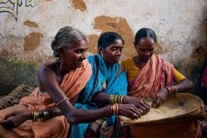 TribalWomenWorking-000